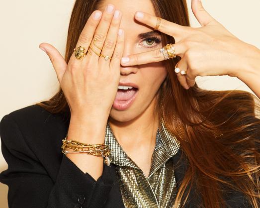 Collection bijoux Bright, bracelets et bagues Mya Bay dorés ou argentés