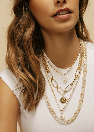 Colliers Pimp et pendentifs MYA BAY collection de bijoux kiss