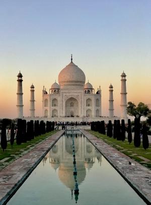 Inde Taj Mahal, inspiration bijoux Mya Bay