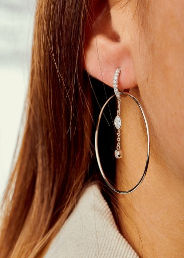 Boucles d'oreilles - Royal Hoops